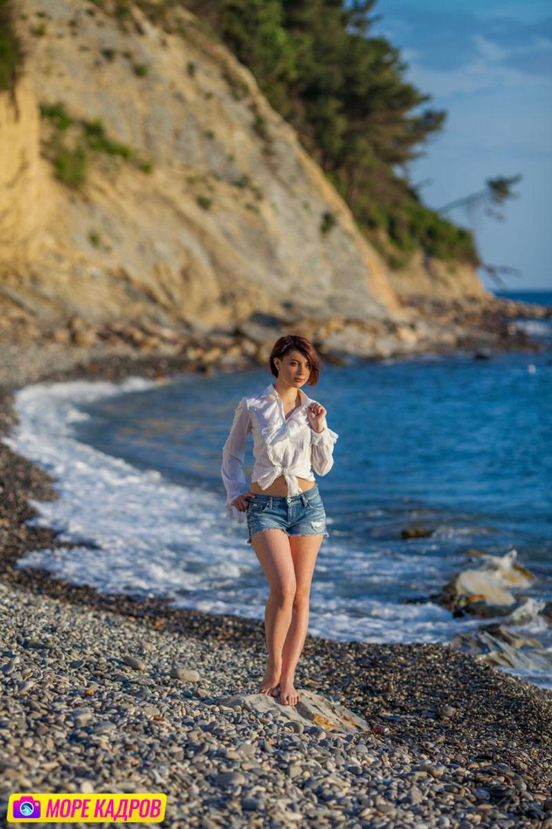 Фотосессия на море геленджик работа междуреченск для девушек