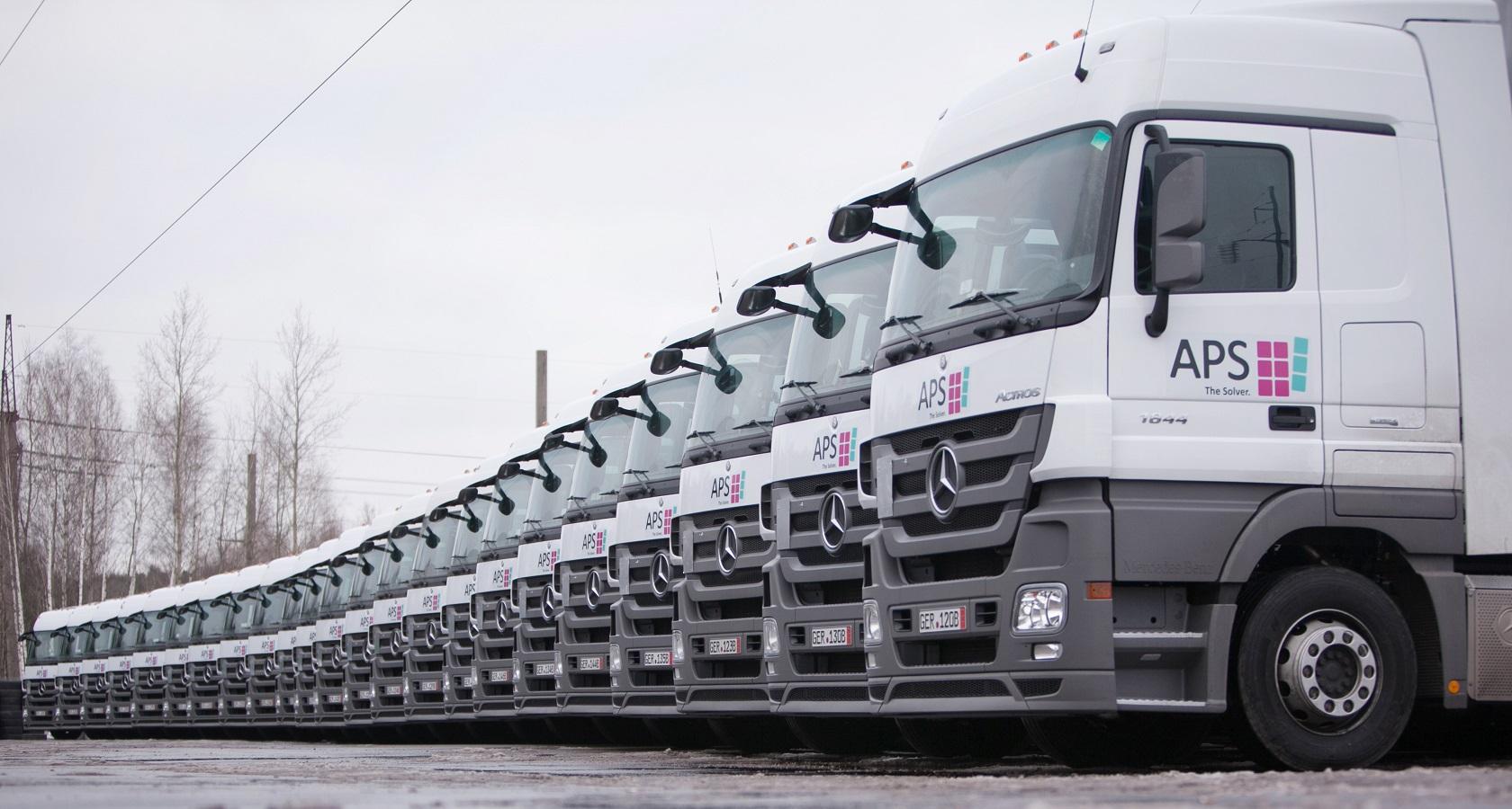 Самой продаваемой иномаркой в России по итогам 2017 года стал немецкий Mercedes Actros (фото: APS/«Адженс»)