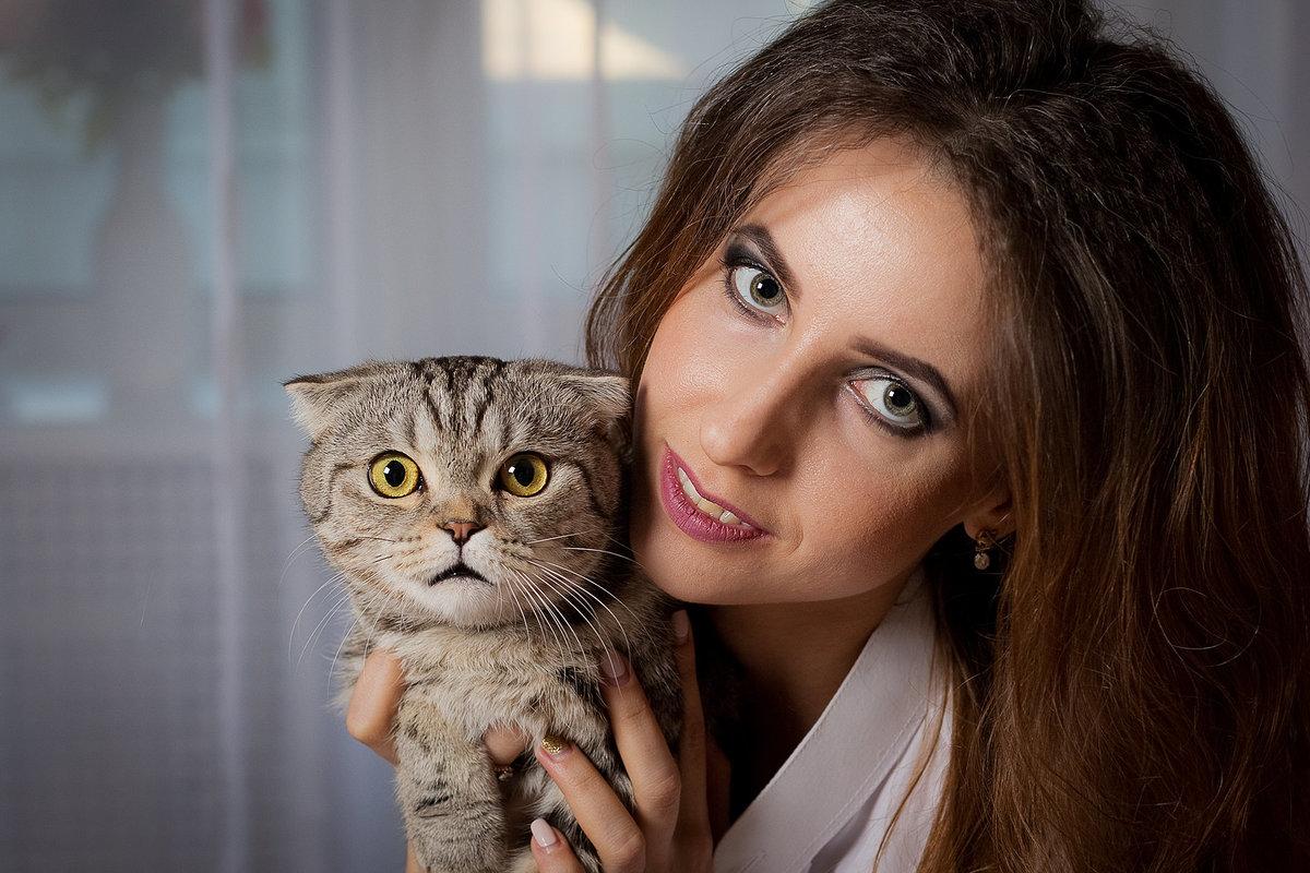 Фотосессия дома с животными