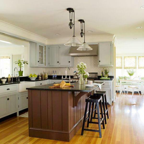 Тропические оттенки - цветовая гамма для кухни