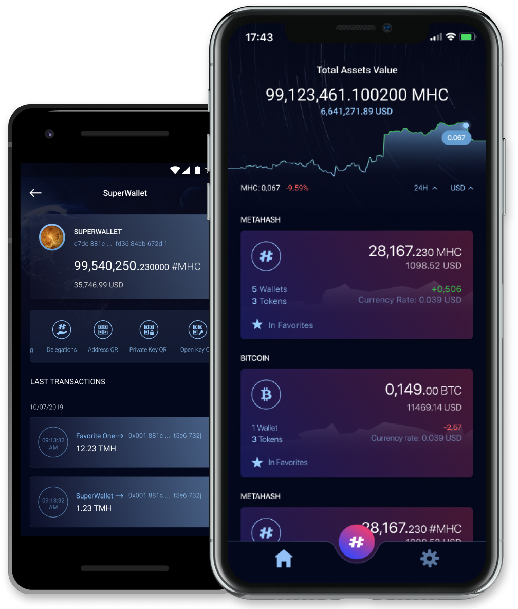 Crypto Currency Wallet Mobile App Design