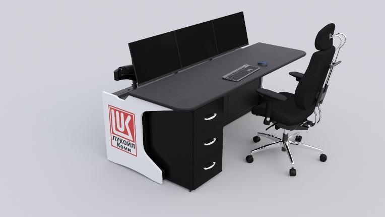 Стол оператора для ООО «ЛУКОЙЛ-Коми»