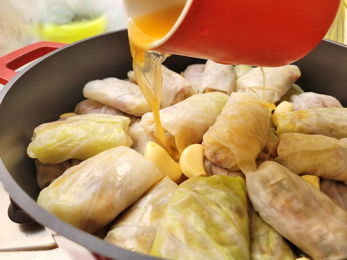 Голубцы с яблочным соком и пивом. Невероятно вкусно и просто! Рецепт.