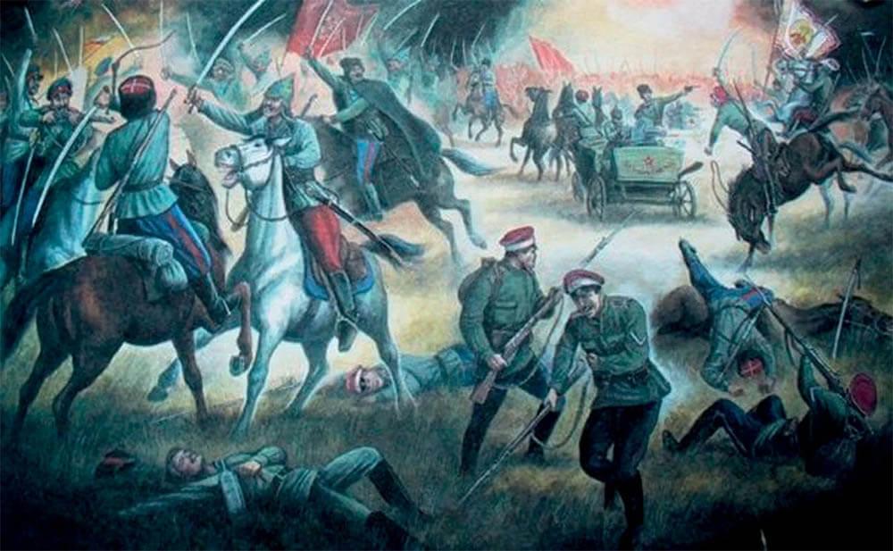 гражданская война иллюстрация