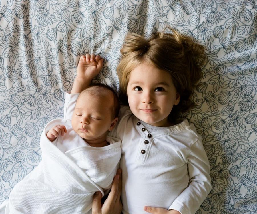 Фотосессия в домашних условиях с ребенком 912