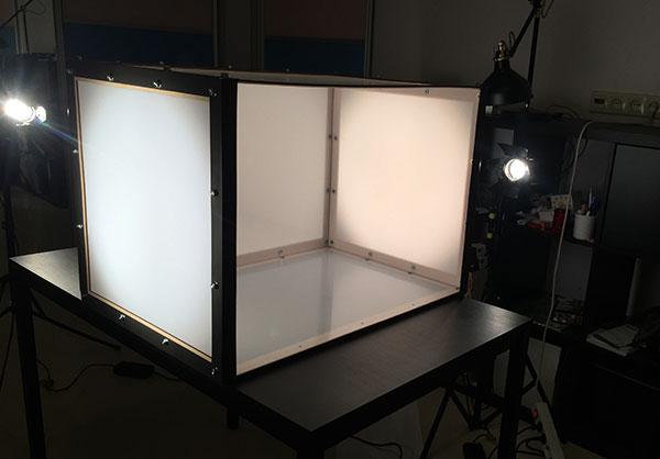 Бестеневая камера для фотосъемки готова