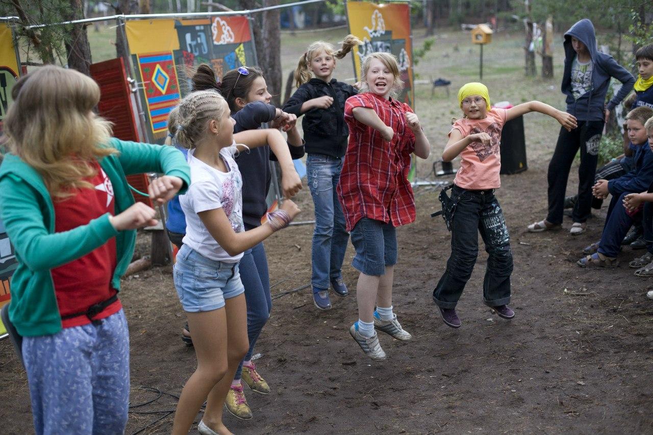 подвижные игры в лагере