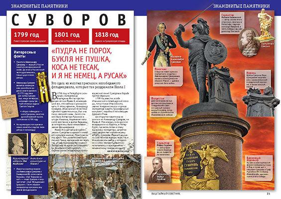 Памятник Суворову. История