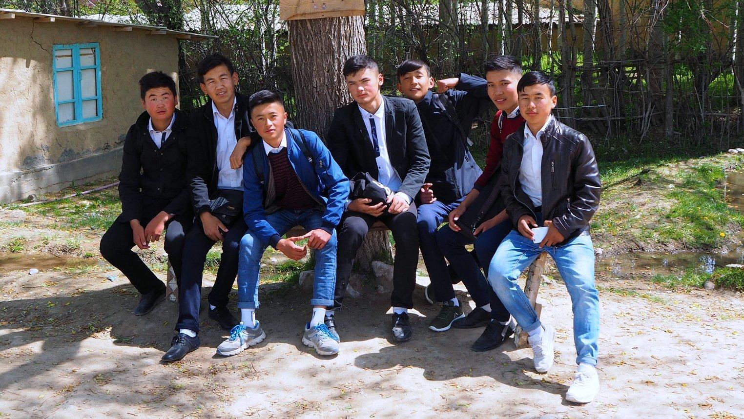 молодые Кыргызы