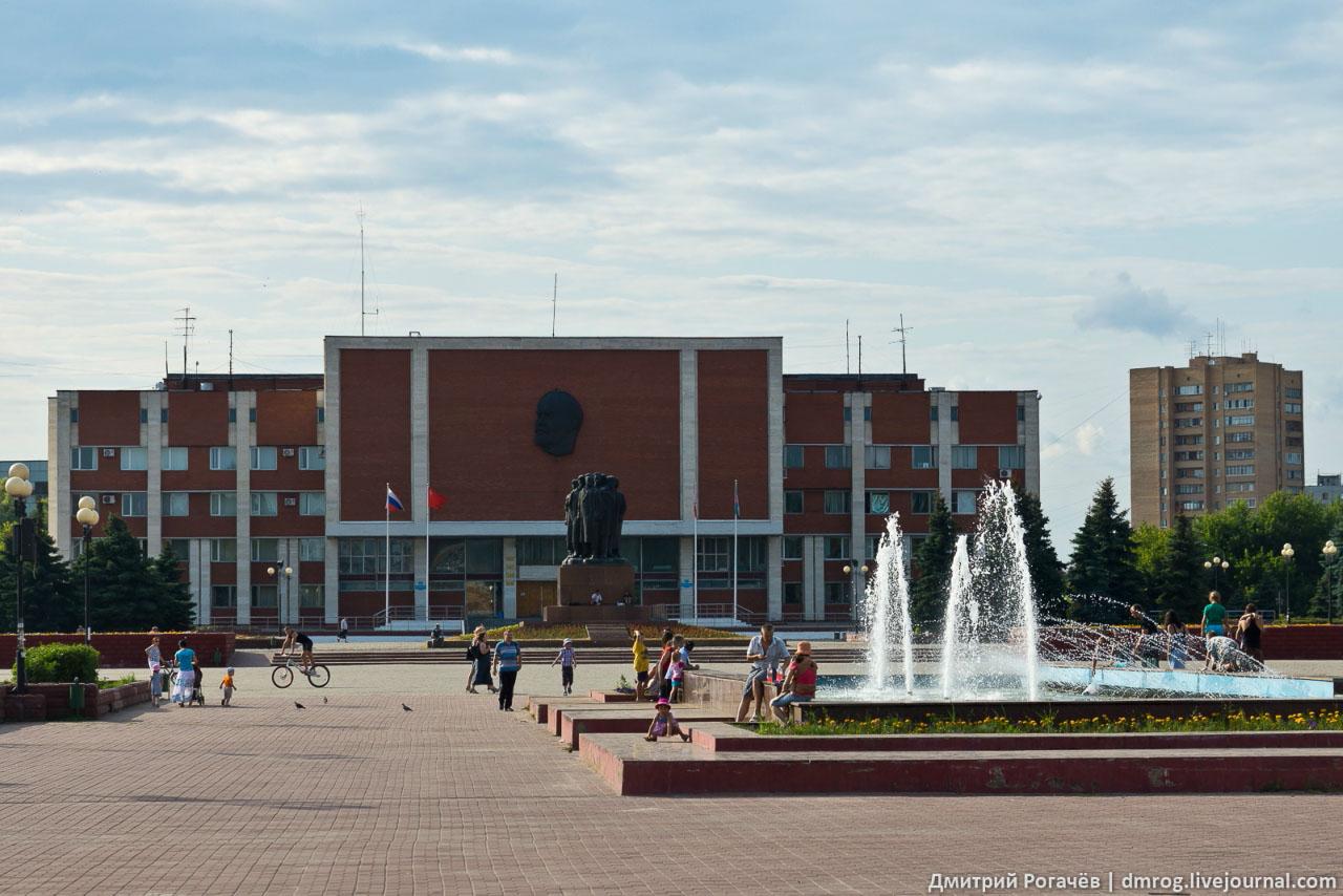 Картинка города орехово-зуево