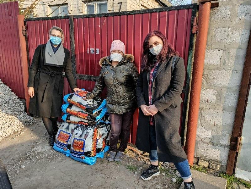 благотворительность запорожской областной ячейки