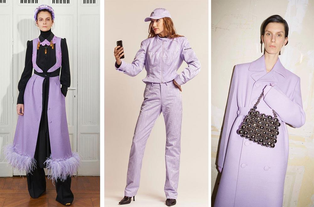 Нежен пастелен нюанс на лилавото, който напомня на цвета на люляк ще са сред най-модерните цветове за дрехи през 2022