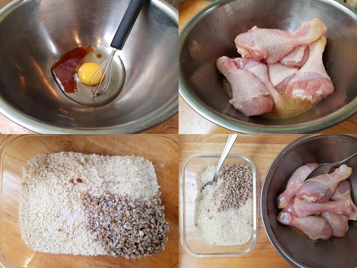 Хрустящая курочка в духовке. Совсем без масла! Блог Вкусный Израиль.