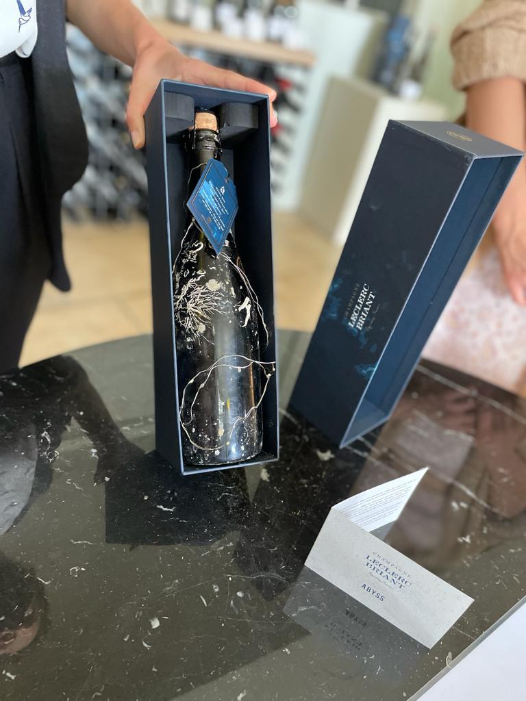 Веганское шампанское дома Leclerc Briant - Шампань, Франция