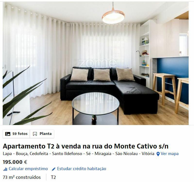 элитная квартира Порту