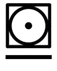 Символи на етикет за сушене на дрехи в сушилня с малко нагряване при програма за предотвратяване на намачкването.