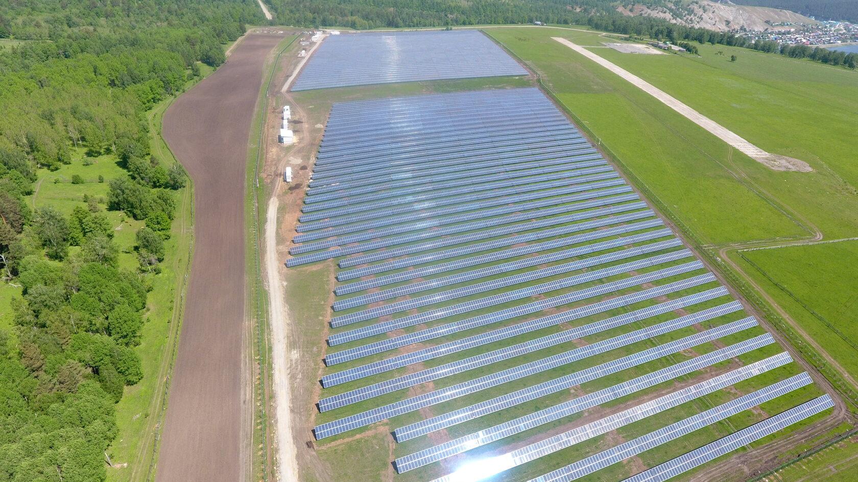 Системы накопления электроэнергии на Бурзянской СЭС обеспечат рекордное резервирование мощности