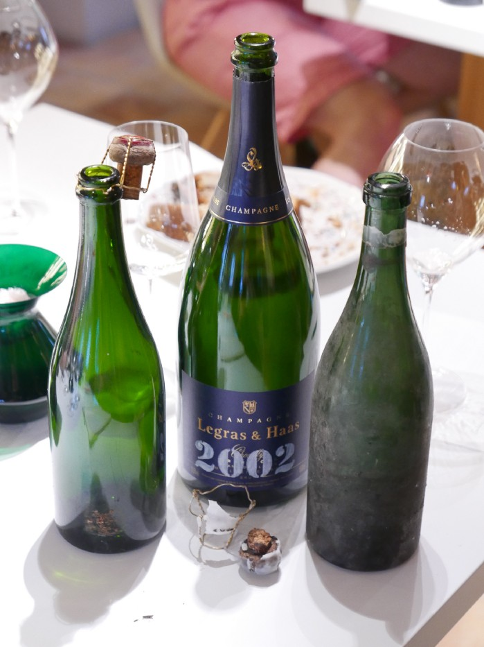 Champagne Legras & Haas 2002 Millesime Collection Magnum