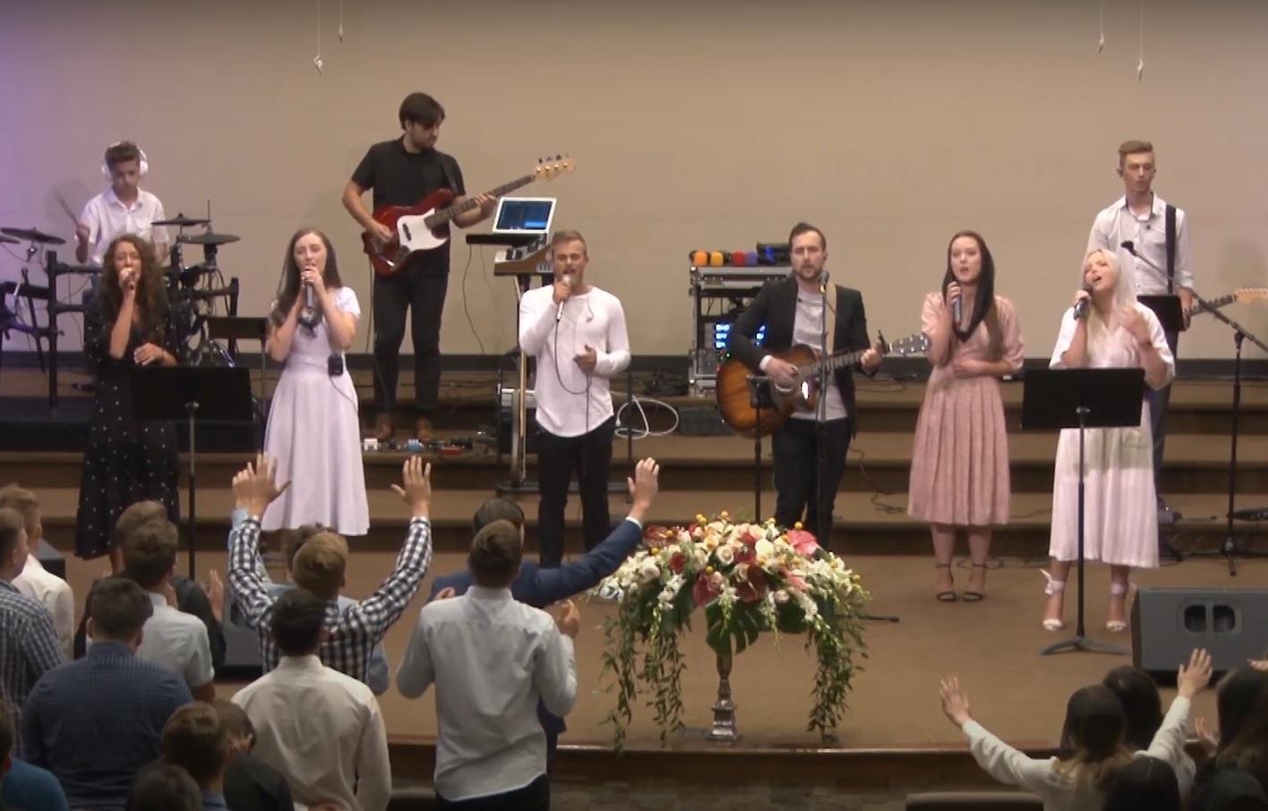 prayer, worship, raised hands in praise
