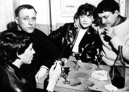 Гі Дебор, Мішель Бернстайн і Асгер Йорн з дружиною, Фотографія