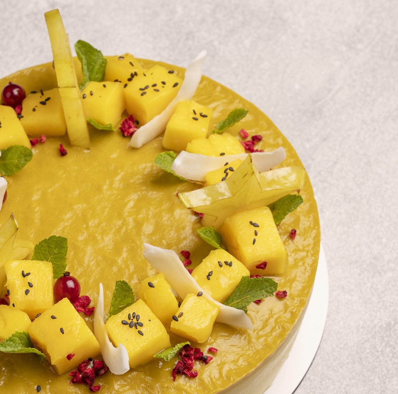 gluten sugar lactose free avocado orange coffee cake