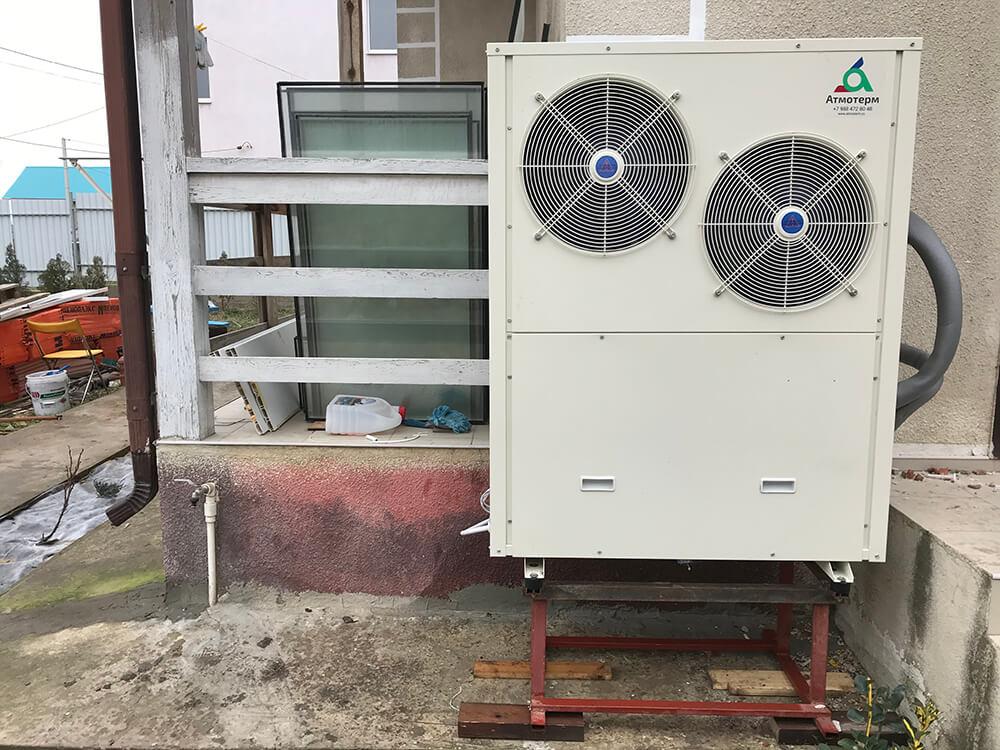 Тепловой насос воздух-вода подключение
