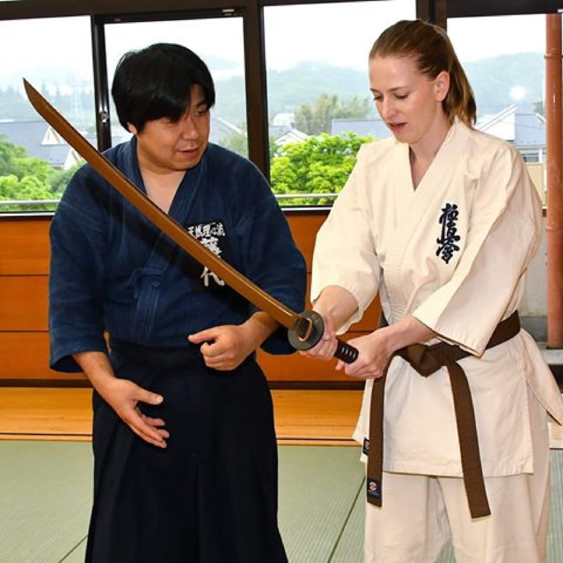 Kyokushin and Katana