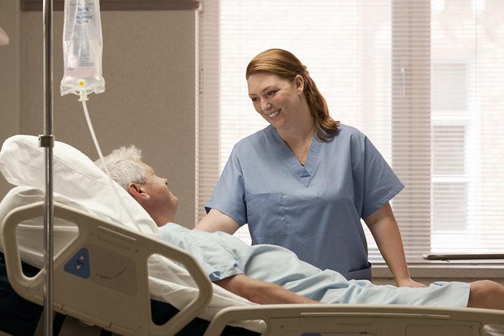 Помощь лежачим больным на дому в колпино меню в дом престарелых