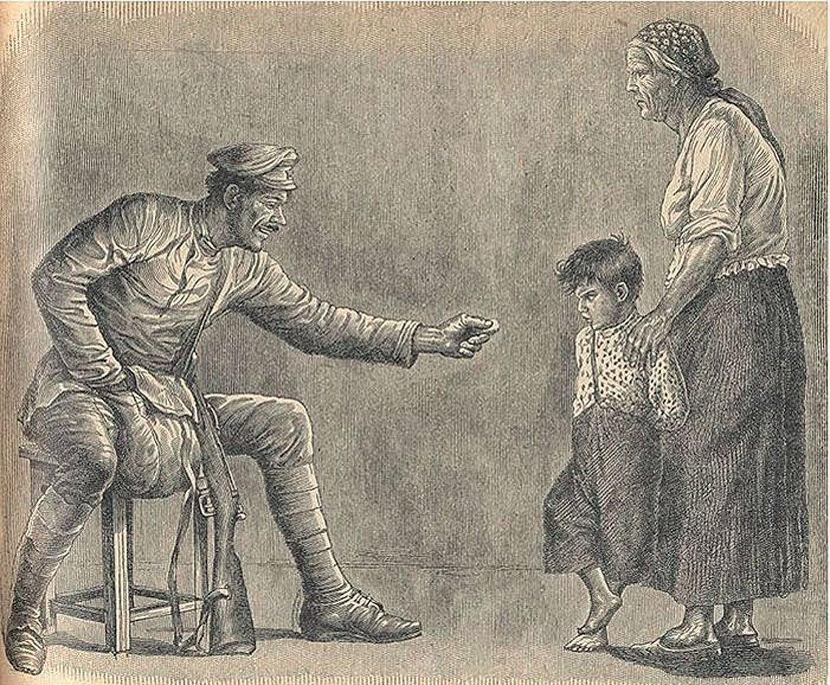 Мужичата против казачат. «Иногородние» крестьяне, жившие в казачьих станицах, с детства приучались ненавидеть своих соседей.