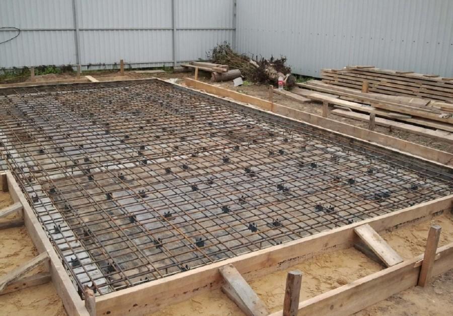 фундамент под деревянный гараж