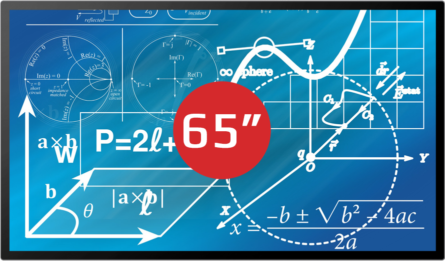 "MULTIBOARD 65"" <span style=""color: rgb(255, 1, 34);"">PREMIUM LINE</span> (UHD) <br />"