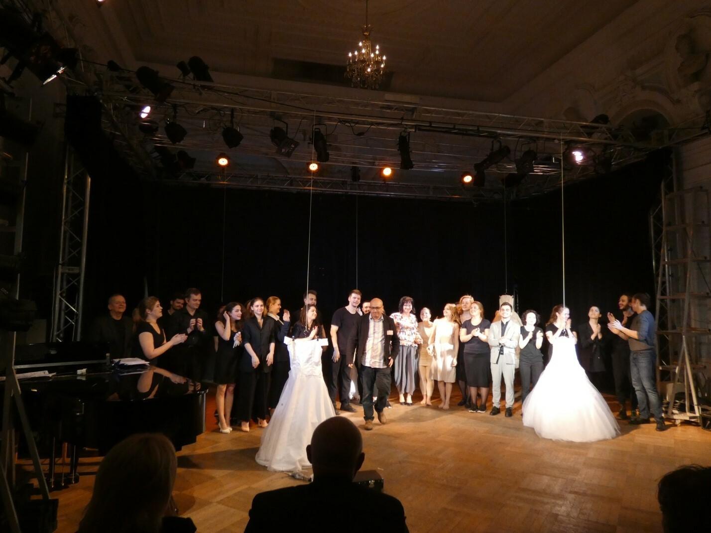 Второй курс актеров и режиссеров музыкального театра, мастерская Георгия Исаакяна (ГИТИС)