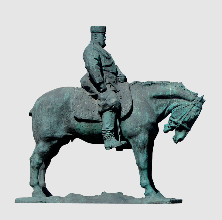 Александр III лошадей не любил и боялся. Памятник Александру III