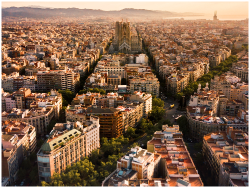 Барселона в октябре