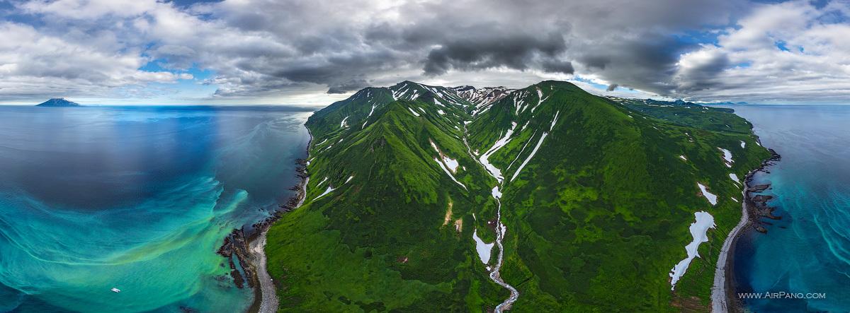 Фото островов курильской гряды