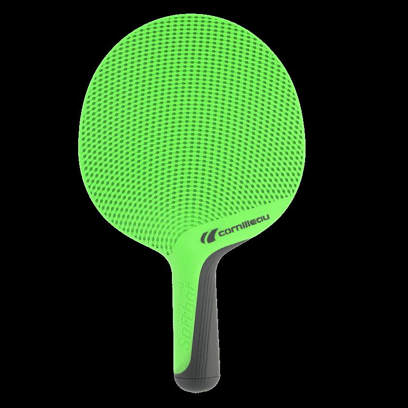 Ракетка для настольного тенниса Cornilleau Softbat Green вид спереди ... 51e5fb720a493