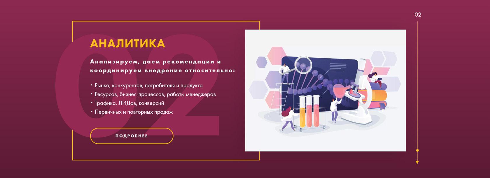 разработка сайта для компании под ключ