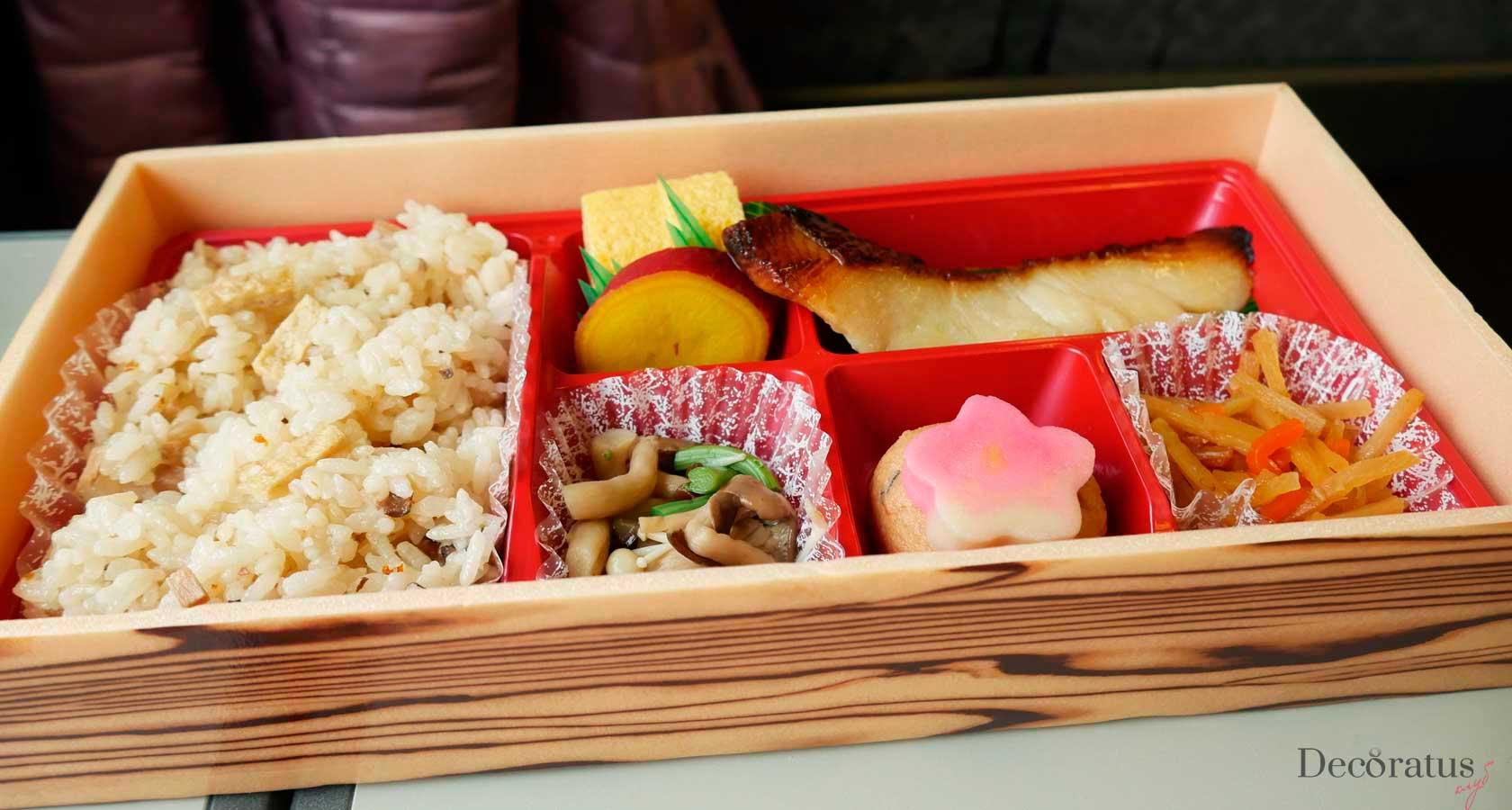 японский обед бенто