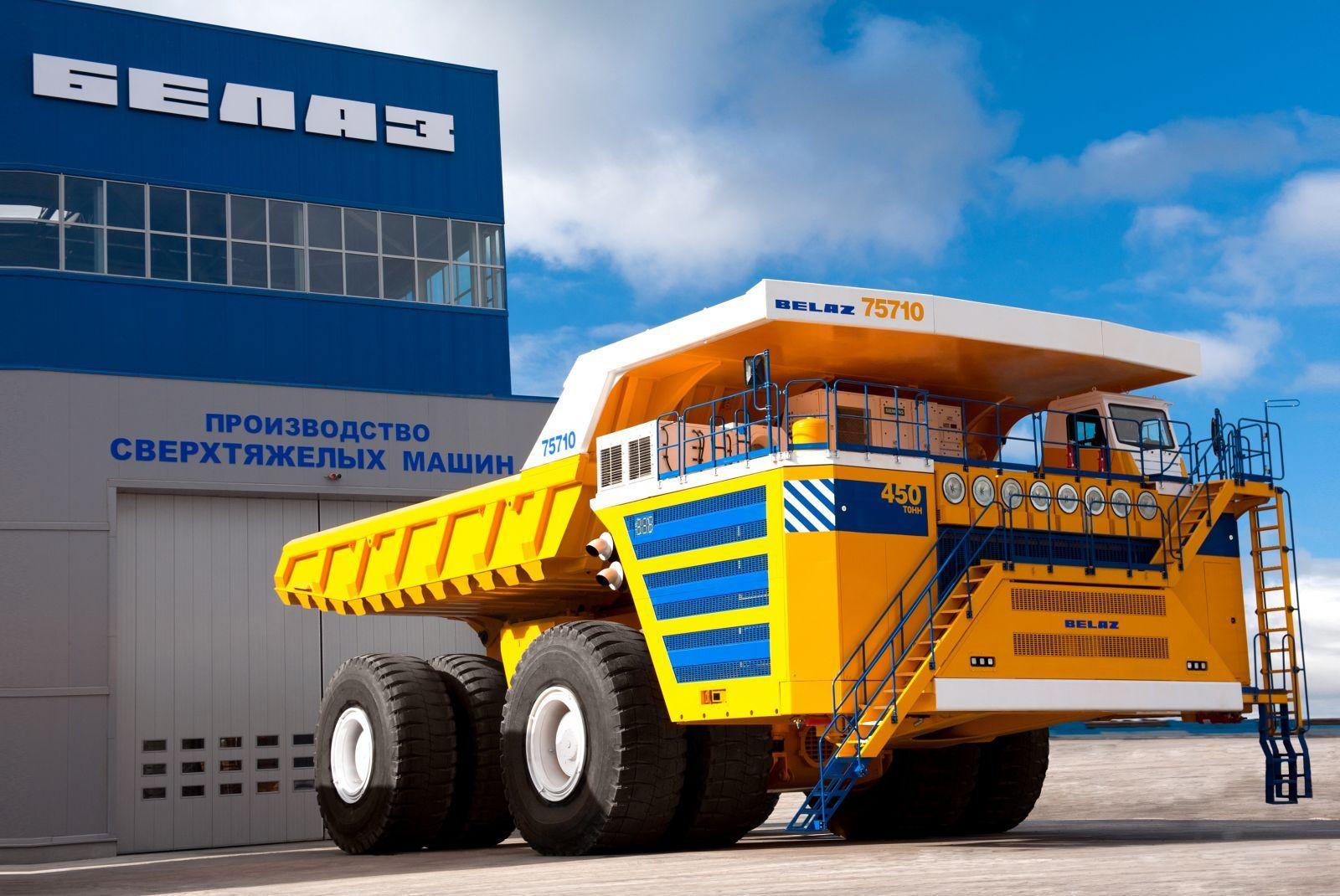 World's Largest Dump Truck >> The World S Largest Dump Truck Belaz 75710 Belaz Australia