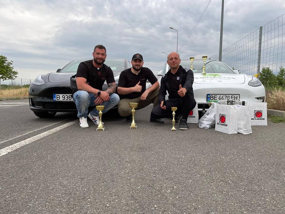 Команда Tesla Community здобула перемогу на перегонах в Румунії, Тесла Комьюнити, Tesla Community