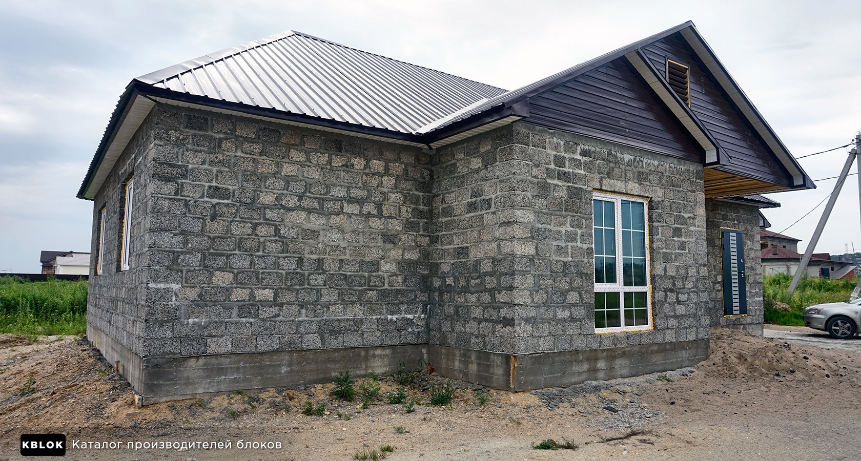 Частный дом из арболита в Благовещенске
