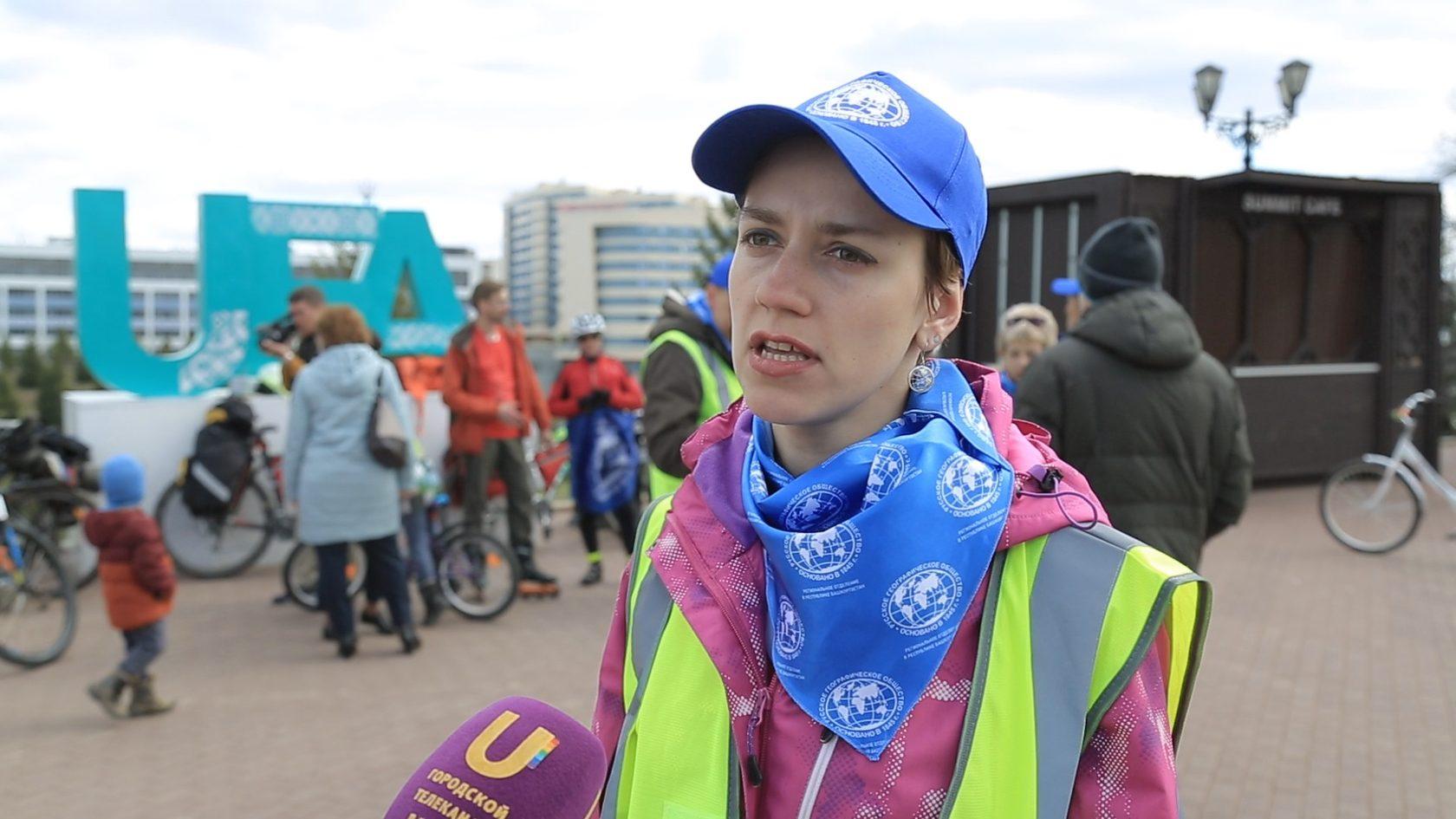 Лидер велотропы Европа — Азия Ксения Салазанова