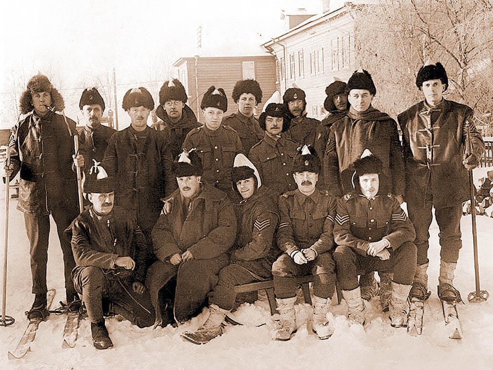 Американцы в Архангельске. 1918 год