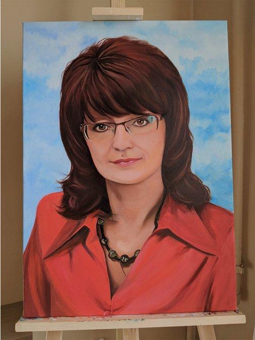 портрет маслом по фотографии в волгограде дома пензе построены