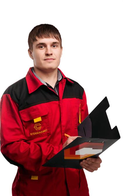 Сотрудник строительной компании, строительство домов