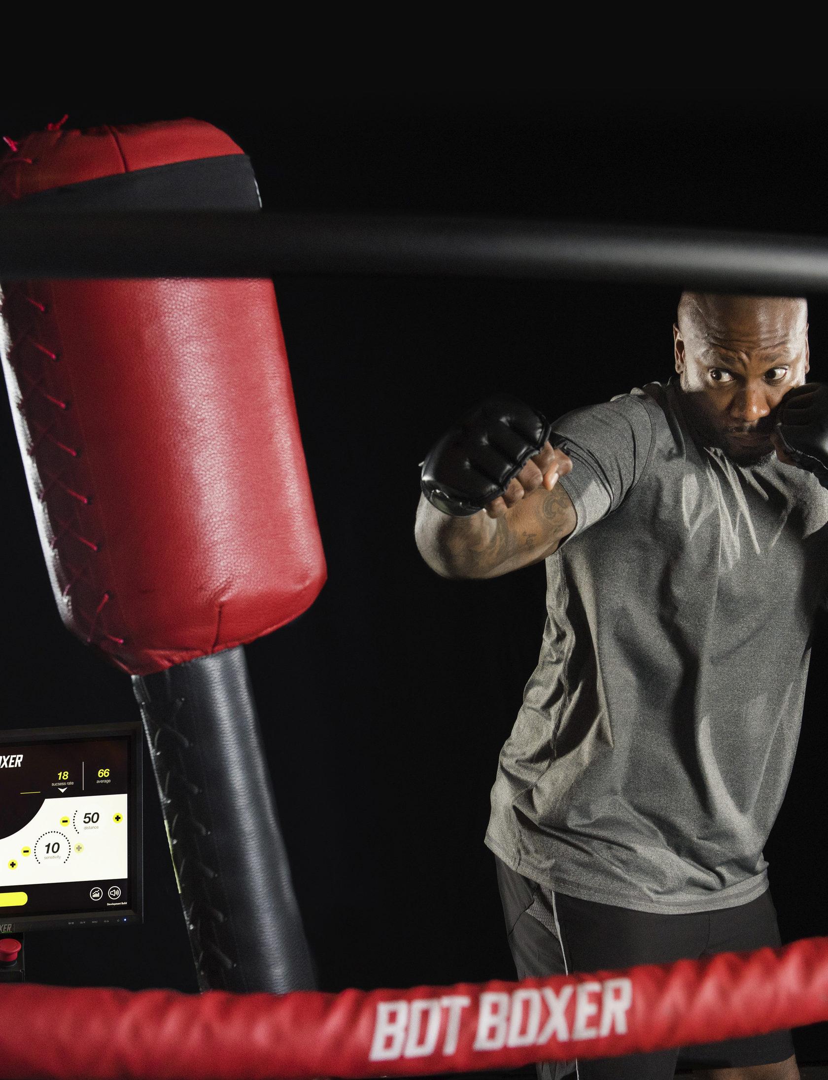 Interactive Boxing Simulator
