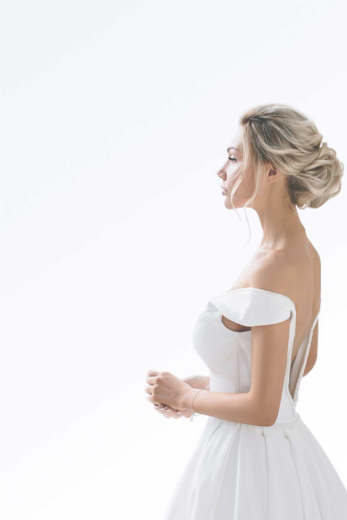 Свадебный образ стилиста Анастасии Котовой №3