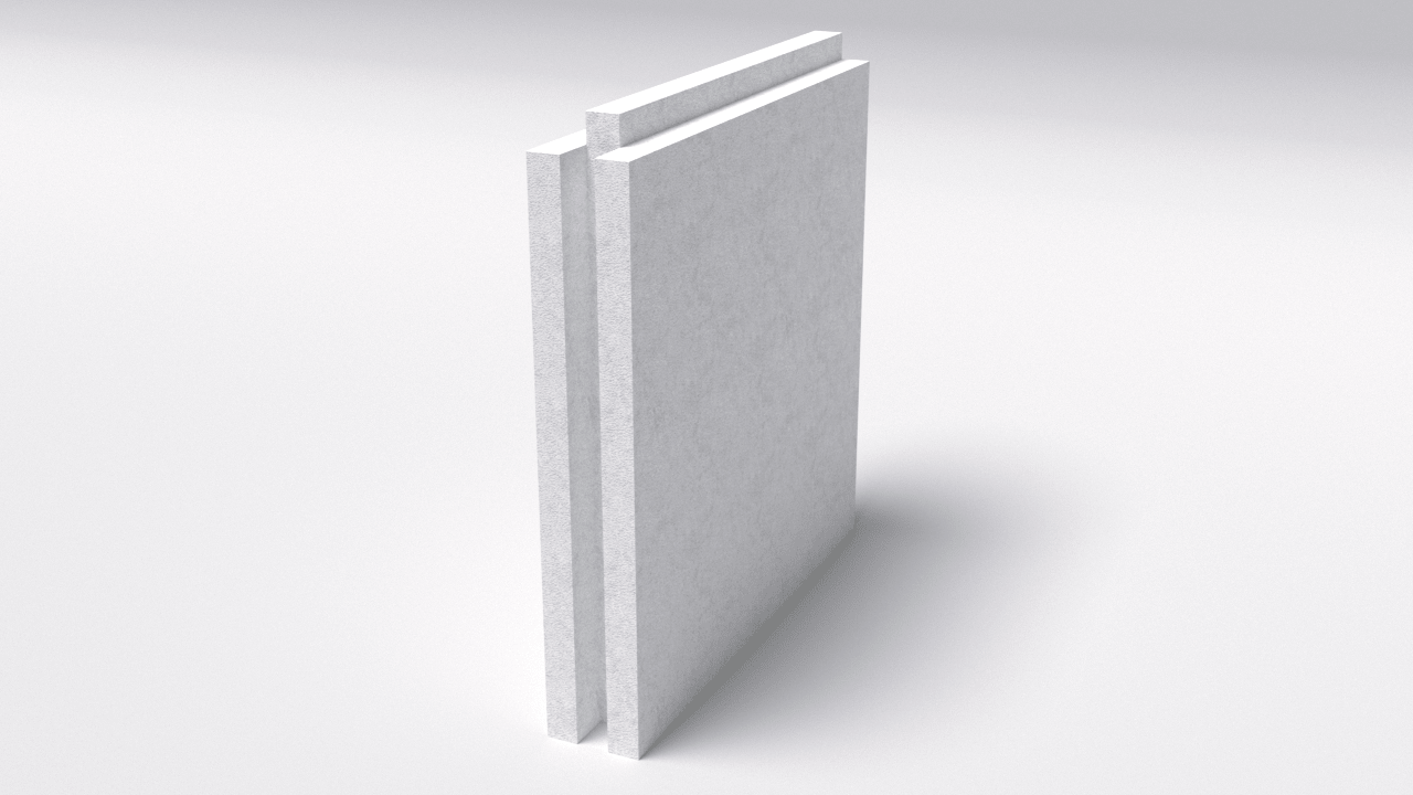 Газобетонный пазогребневый блок