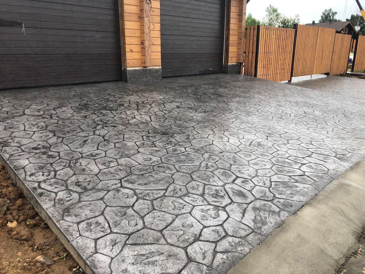 Печатный бетон цена за 1м2 под ключ в москве атлант бетон вакансии