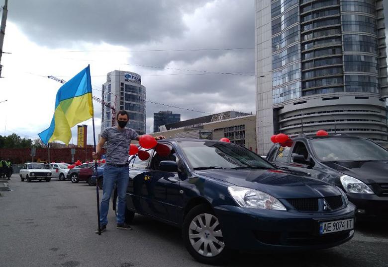 Автопробег Партии Шария ко Дню Победы - фото
